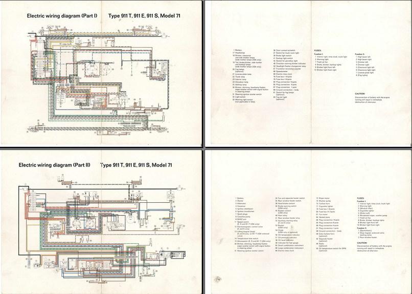 Porsche Wiring Schematic - Wiring Diagrams